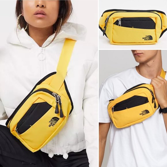 NWT North Face Unisex Bozer Hip Pack II Yellow